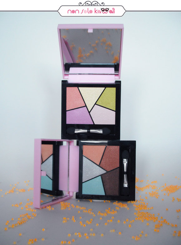non solo Kawaii - Pupa Sporty Chic |  Sporty Chic Graphic Eyeshadow Palette