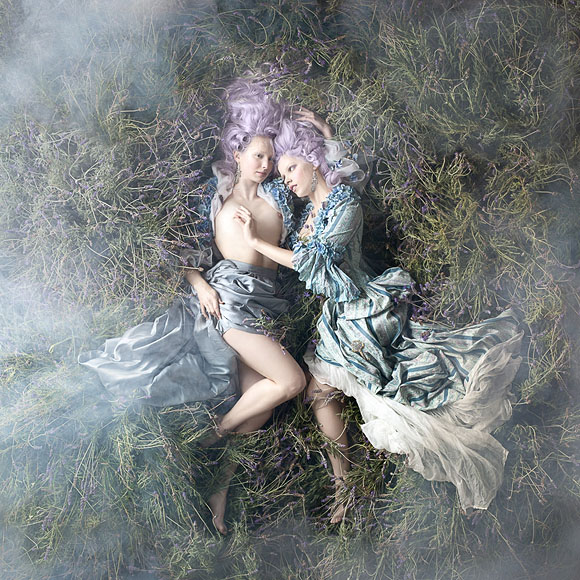 Alexia Sinclair, Fields of Lavender - Rococo, Black Eye Gallery