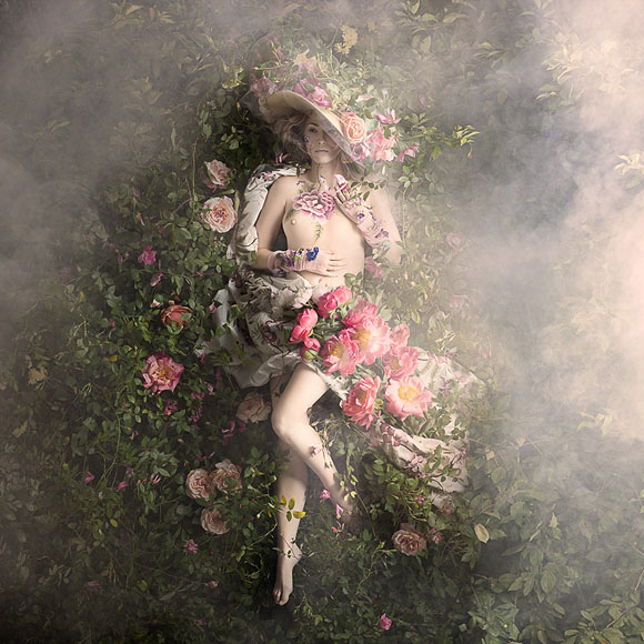 Alexia Sinclair, Perfumier's Rose - Rococo, Black Eye Gallery