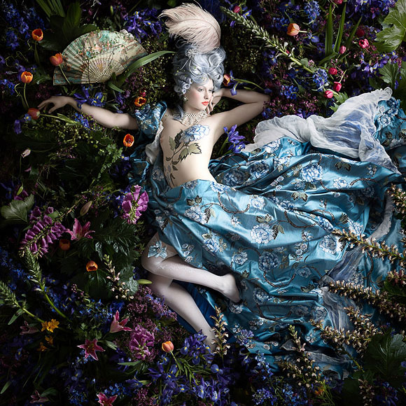 Alexia Sinclair, The Perfumed Garden - Rococo, Black Eye Gallery