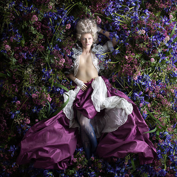 Alexia Sinclair, The Secred Garden - Rococo, Black Eye Gallery
