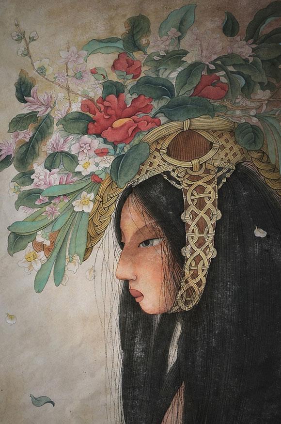 Alice Lin, Flower Hat