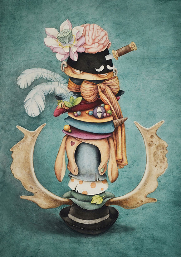 Alice Lin, The Mad hatter's hats