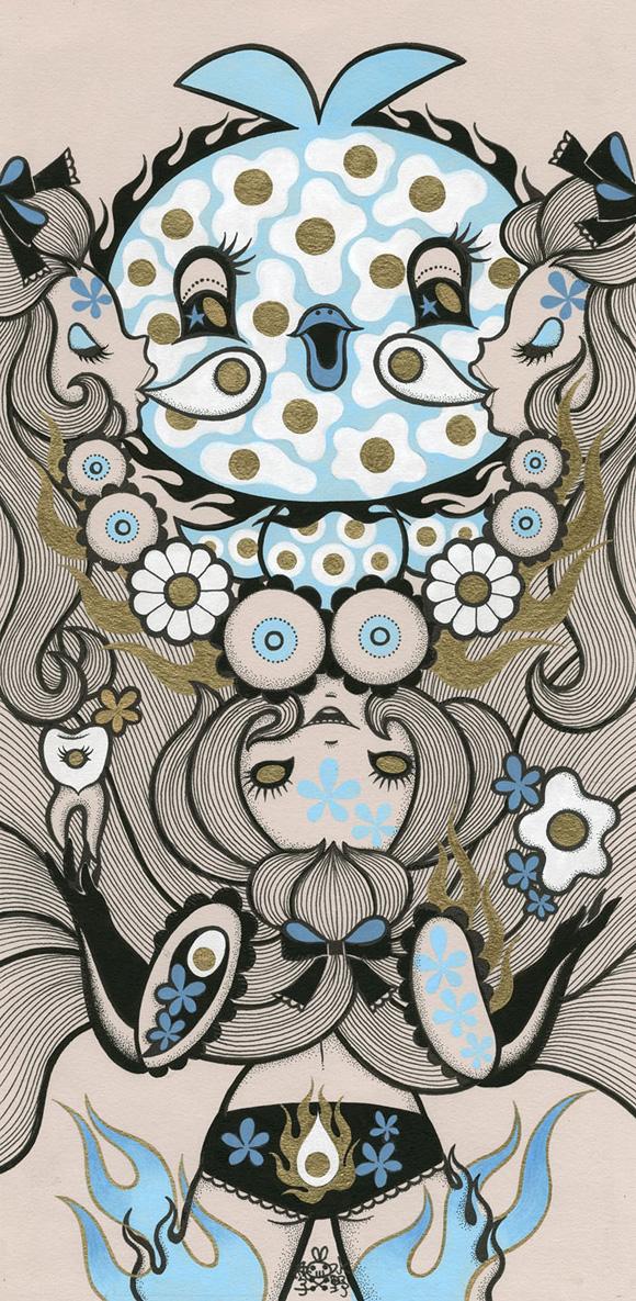 Junko Mizuno, Eggs - Ambrosial Affair, Narwhal Contemporary gallery