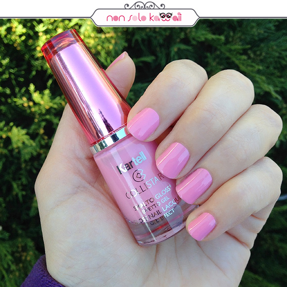 non solo Kawaii | Smalto Gloss Effetto Gel / Gel Effect Nail Polish | 515 Victoria Pink