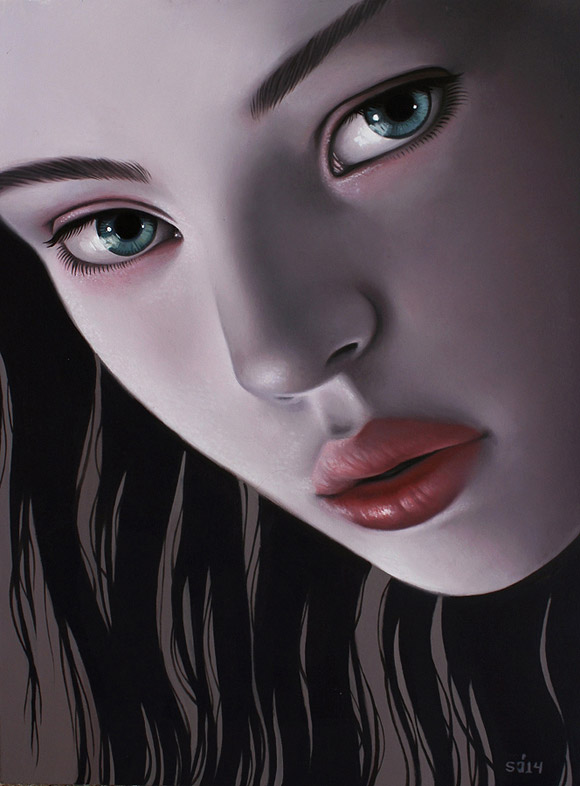 Sarah Joncas, Nightshade - Beauty in the Breakdown, Thinkspace Gallery