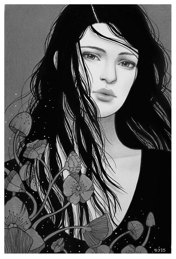 Sarah Joncas, Overgrowth - Beauty in the Breakdown, Thinkspace Gallery