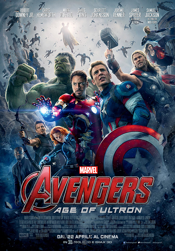 Avengers: Age of Ultron locandina