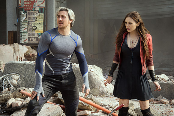 Avengers: Age of Ultron - Quicksilver e Scarlet Witch