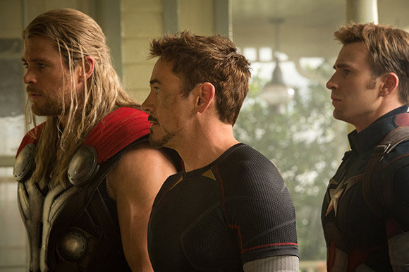Avengers: Age of Ultron - Thor, Iron Man & Captain America