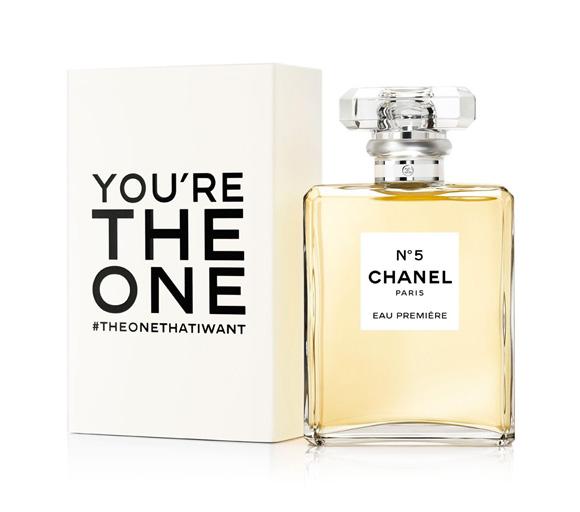 Chanel N°5 Eau Première limited edition