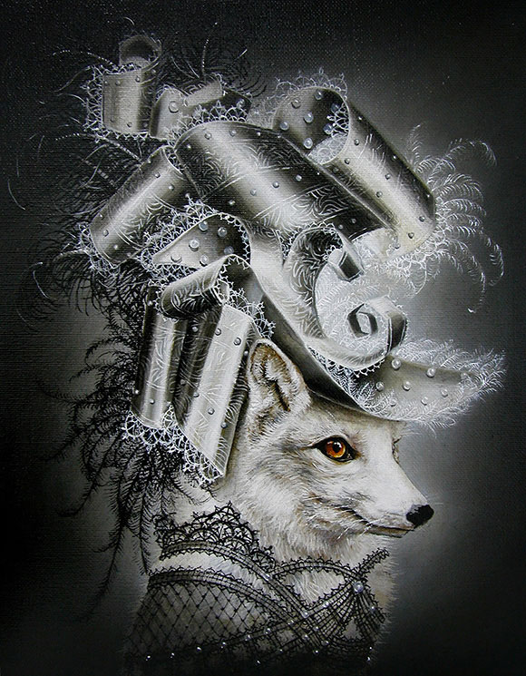 Marc le Rest, White Rabbit | The Mad Hatter, Modern Eden Gallery