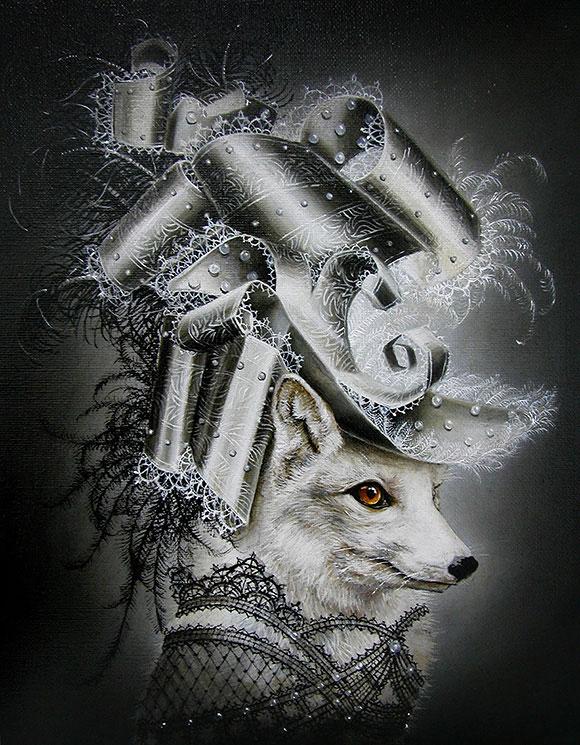Marc le Rest, White Rabbit | The Mad Hatter, Modern Eden Gallery
