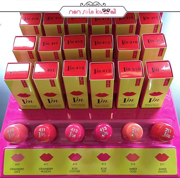 Pupa - I'M nuovi rossetti, Blogger Event