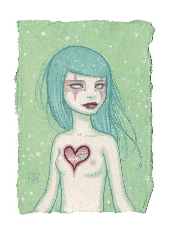 Tara McPherson - Heart Girl | I Know It by Heart, Dorothy Circus Gallery