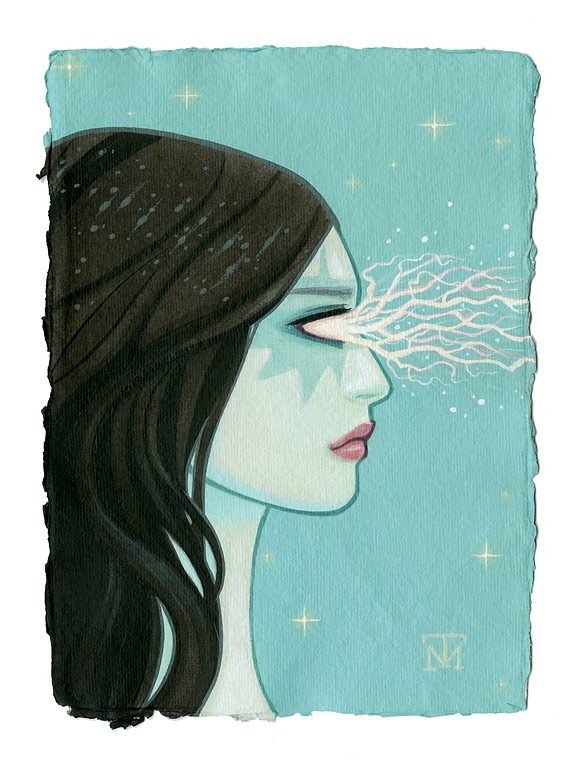 Tara McPherson - Lightning Bolts | I Know It by Heart, Dorothy Circus Gallery