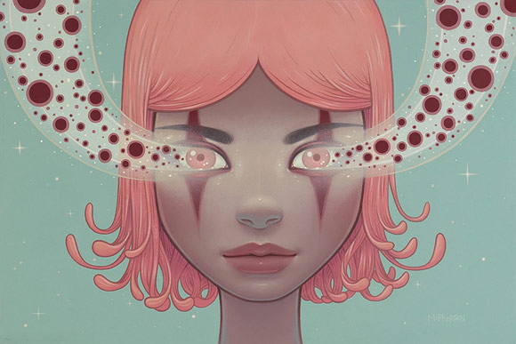Tara McPherson - Magnetic Trance | I Know It by Heart, Dorothy Circus Gallery