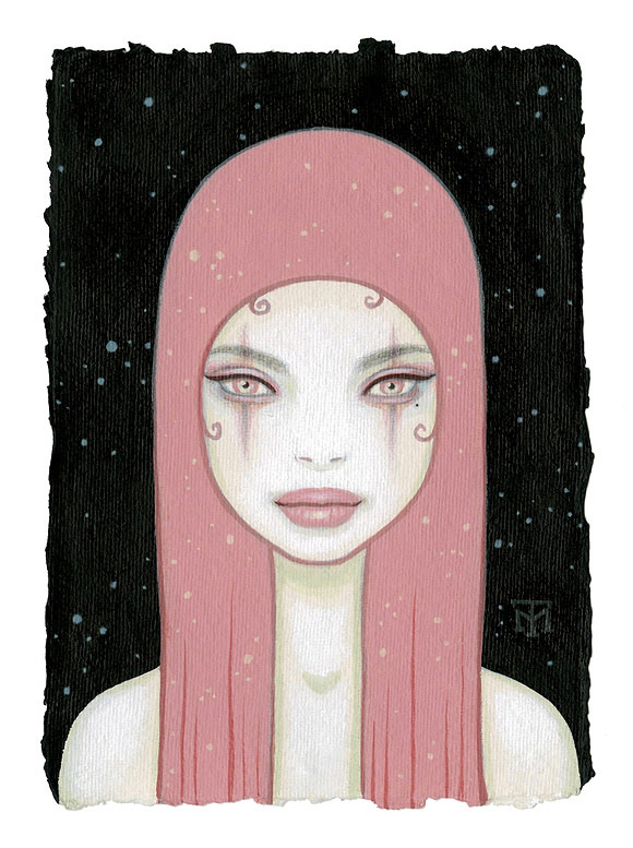 Tara McPherson - Pink Girl | I Know It by Heart, Dorothy Circus Gallery