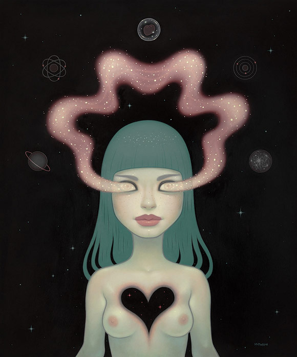 Tara McPherson - Quantum Dancer | I Know It by Heart, Dorothy Circus Gallery