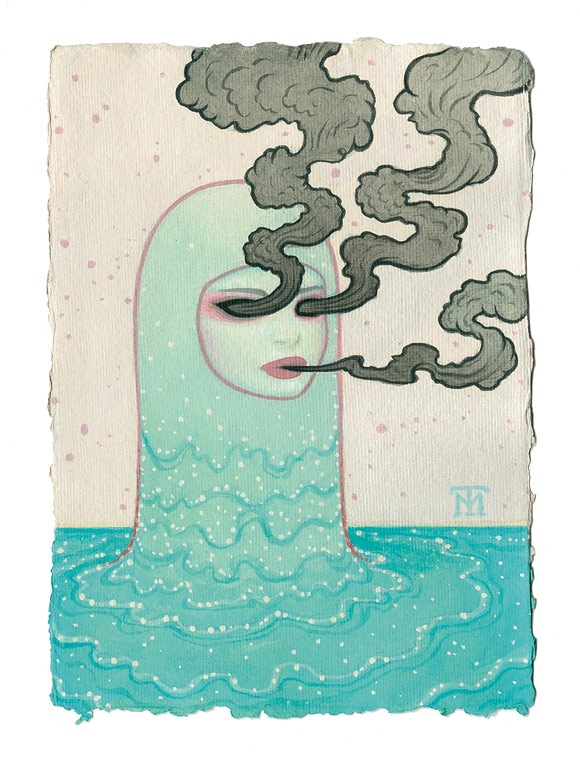 Tara McPherson - Smoke | I Know It by Heart, Dorothy Circus Gallery