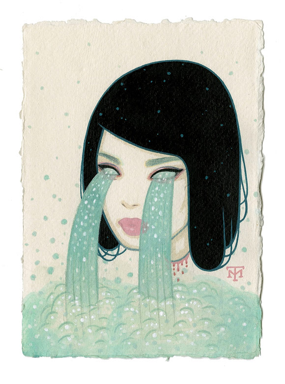 Tara McPherson - Waterfall Eyes | I Know It by Heart, Dorothy Circus Gallery