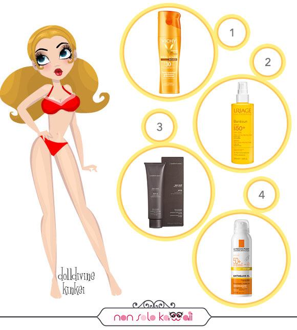 non solo Kawaii - Summer 2015: Sun Care Products