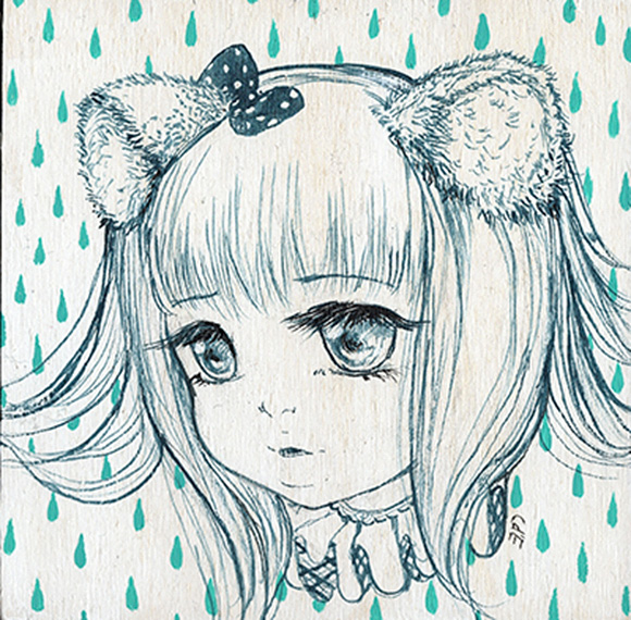Raindrops Keep Falling On My Head, Camilla d'Errico | Tiny Trifecta, Cotton Candy Machine