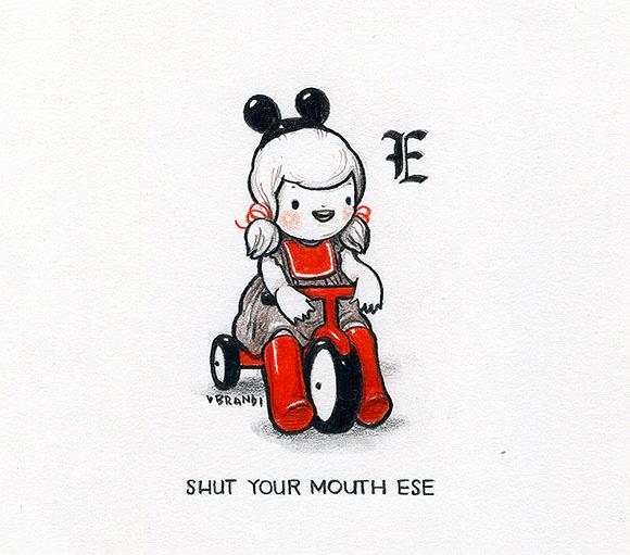 Shut Your Mouth Ese, Brandi Milne   Tiny Trifecta, Cotton Candy Machine