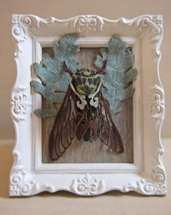 Green Cicada, Lana Crooks   Tiny Trifecta, Cotton Candy Machine