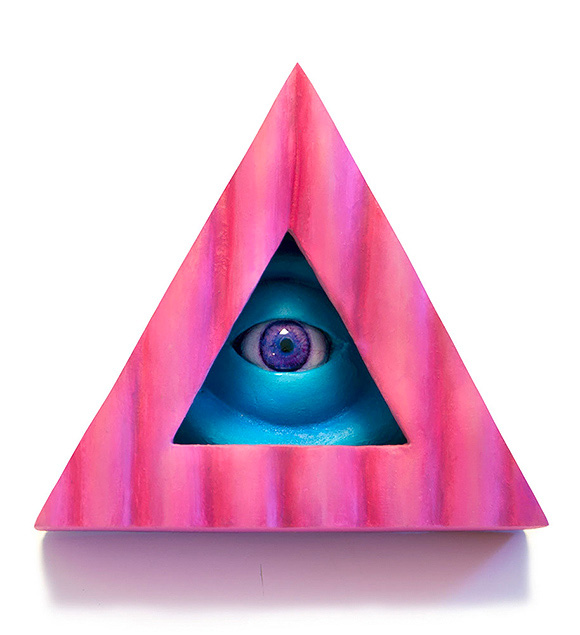 Trifecta Eye Pink, Jim McKenzie | Tiny Trifecta, Cotton Candy Machine
