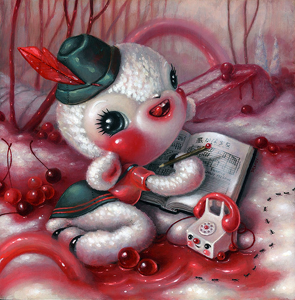 Brandi Milne, Once Upon A Time, Life Was Sweeter Than We Knew - 3rd Annual Art Collector Starter Kit, Corey Helford Gallery
