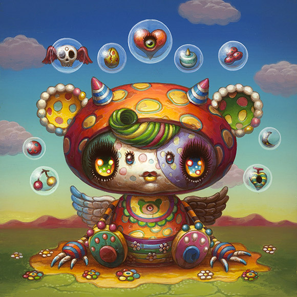 Yoko d'Holbachie - 3rd Annual Art Collector Starter Kit, Corey Helford Gallery
