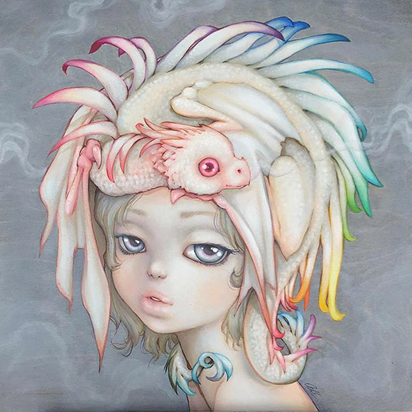 Camilla d'Errico, Puff - 3rd Annual Art Collector Starter Kit, Corey Helford Gallery