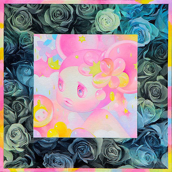 So Youn Lee, Flower Bed, Life Was Sweeter Than We Knew - 3rd Annual Art Collector Starter Kit, Corey Helford Gallery