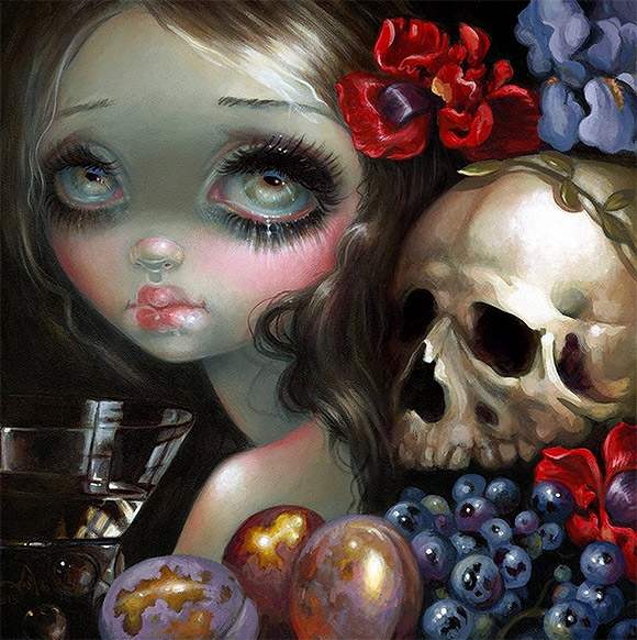 Jasmine Becket-Griffith, Stilleven XI: Vanitas - 3rd Annual Art Collector Starter Kit, Corey Helford Gallery