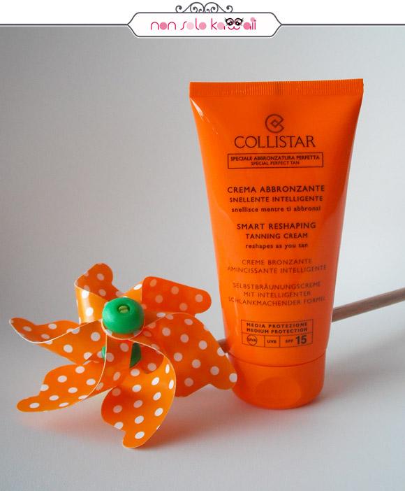 non solo Kawaii - Collistar Crema Abbronzante Snellente Intelligente SPF15 | Smart Reshaping Tanning Cream SPF15