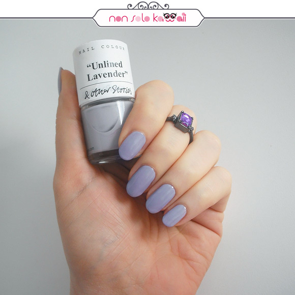 non solo Kawaii - & Other Stories Nail Colour, Unlined Lavender