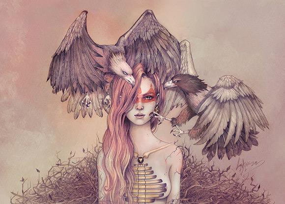 Lorena Assisi - Eagle Princess