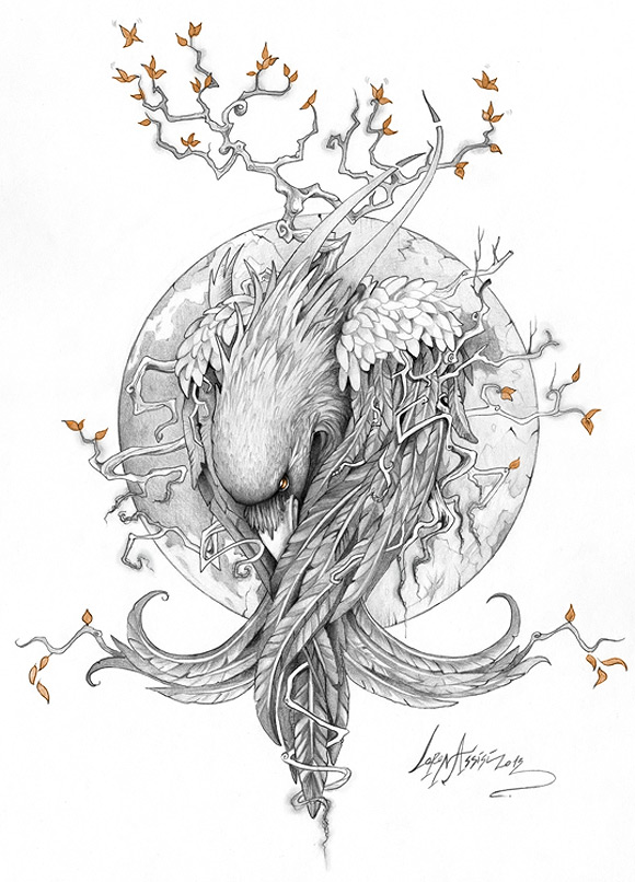 Lorena Assisi - the Raven