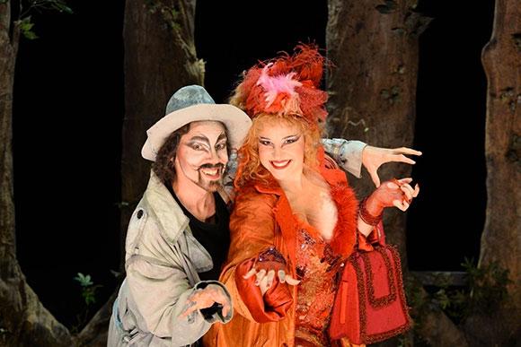 Pinocchio Il Grande Musical, il gatto e la volpe
