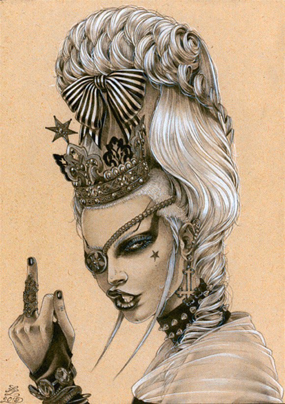 Zoe Lacchei, Baroque Punk | Carnivorous Beauties, La Luz de Jesus Gallery