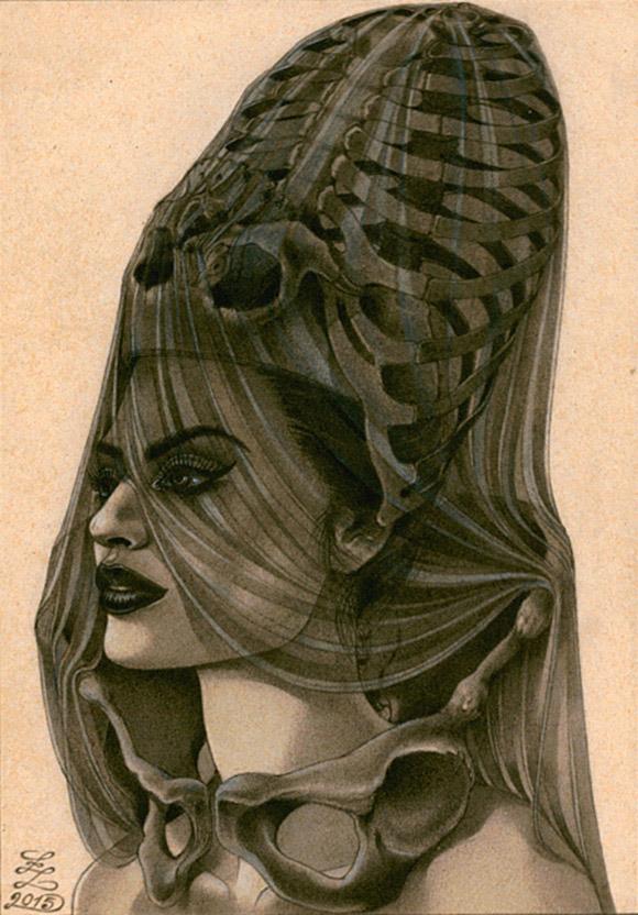 Zoe Lacchei, The Dark Priestess | Carnivorous Beauties, La Luz de Jesus Gallery