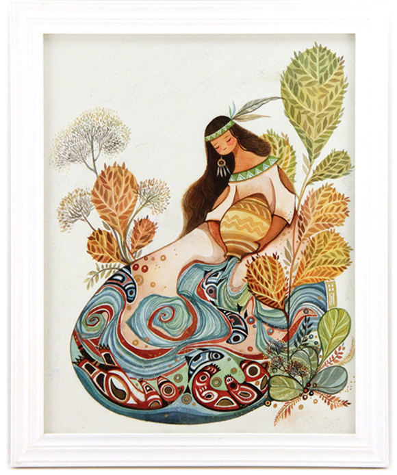 Alina Chau, Aquarius | Constellation Tales, Gallery Nucleus