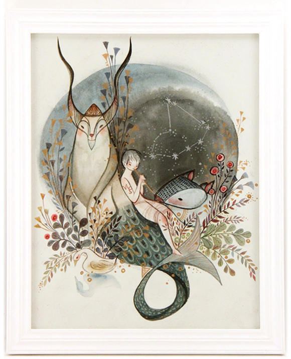 Alina Chau, Capricorn | Constellation Tales, Gallery Nucleus