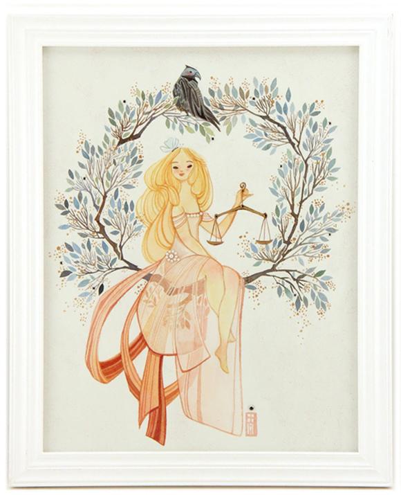 Alina Chau, Libra | Constellation Tales, Gallery Nucleus