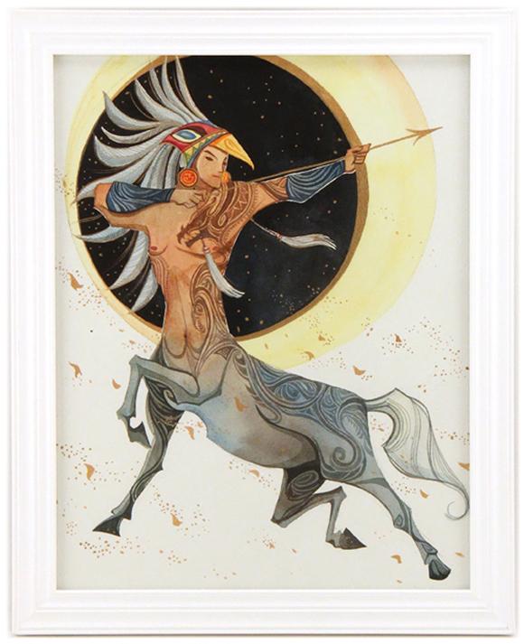 Alina Chau, Sagittarius | Constellation Tales, Gallery Nucleus