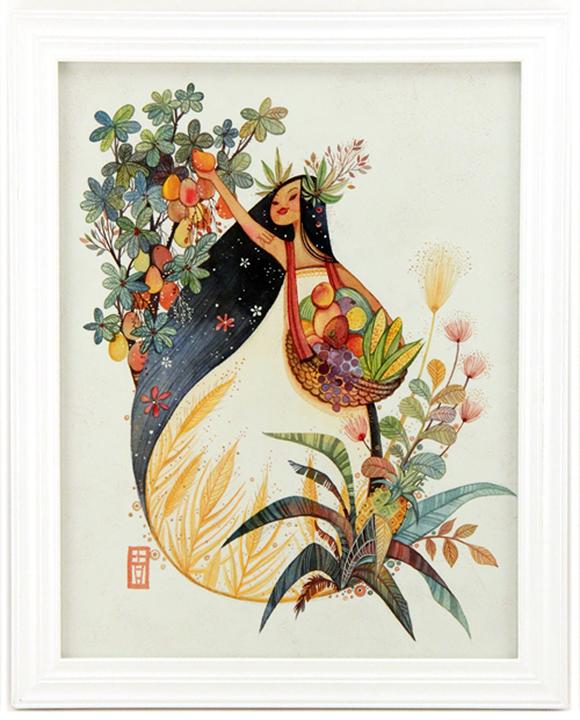 Alina Chau, Virgo | Constellation Tales, Gallery Nucleus