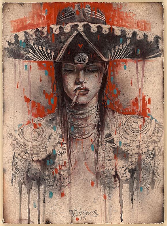 Brian M. Viveros, El Mariachi - Matador, Thinkspace Art Gallery