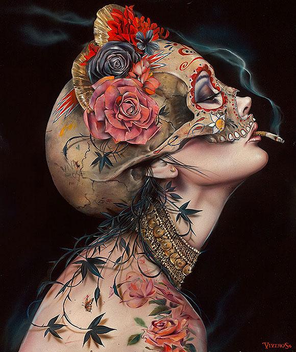 Brian M. Viveros, Viva La Muerte - Matador, Thinkspace Art Gallery