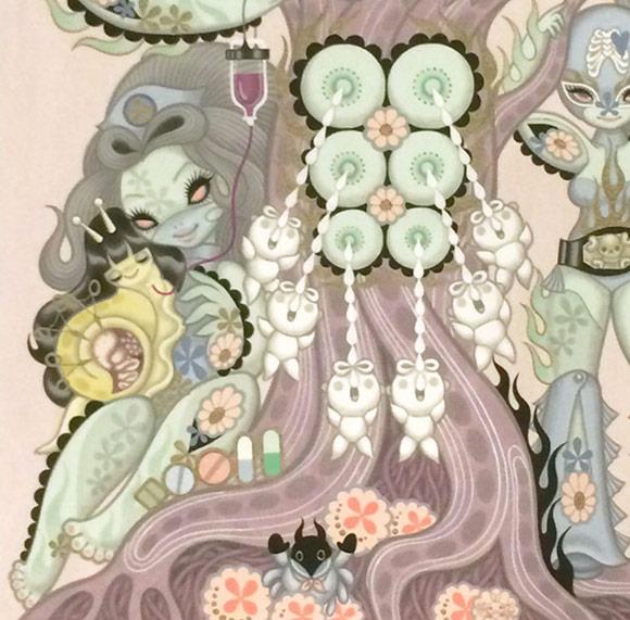 Junko Mizuno, Tree - Triad, The Cotton Candy Machine